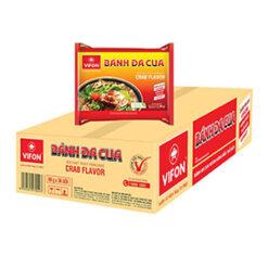 Bánh đa cua Vifon thùng 30 gói chính hãng tại Nhật|Vietmart