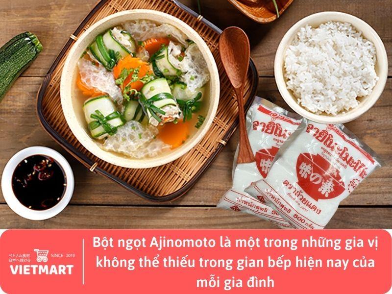 Bột ngọt Ajinomoto 500g - gia vị Việt Nam tại Vietmart - Chợ Việt Nam tại Nhật Bản