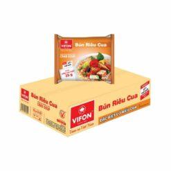 Bún riêu cua Vifon thùng 30 gói chính hãng tại Nhật|Vietmart