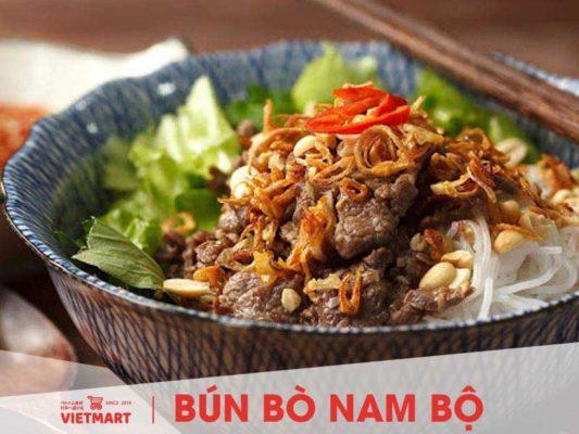 Bún bò Nam Bộ nấu từ bún tươi Safoco - Vietmart - Chợ Việt tại Nhật