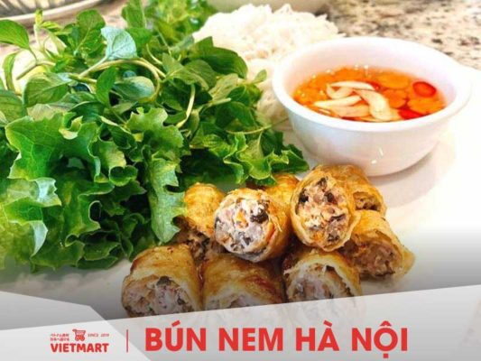 Bún nem Hà Nội nấu từ bún tươi Safoco - Vietmart - Chợ Việt tại Nhật