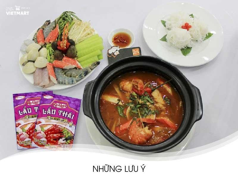 Cách nấu lẩu Thái từ gói gia vị lẩu Thái Aji-Quick - Vietmart - Chợ Việt Nam tại Nhật Bản