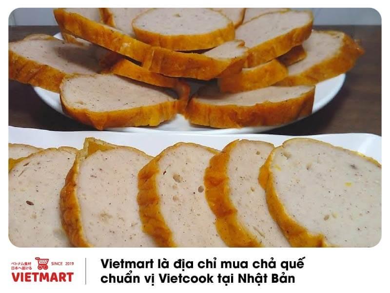 Chả quế Vietcook, hàng Việt cao cấp sản xuất tại Nhật, đóng gói vệ sinh - Vietmart - Chợ Việt Nam tại Nhật Bản