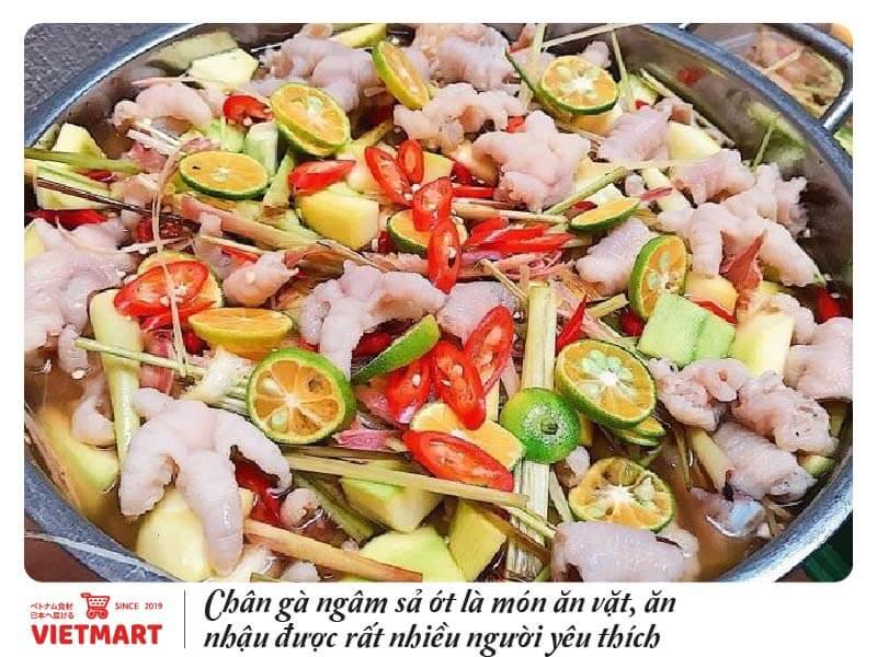 Chân gà (1kg) sẵn hàng tại Vietmart - Chợ Việt Nam tại Nhật Bản