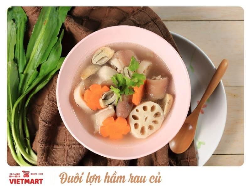 Đuôi lợn hầm rau củ - Vietmart - Chợ Việt Nam tại Nhật Bản