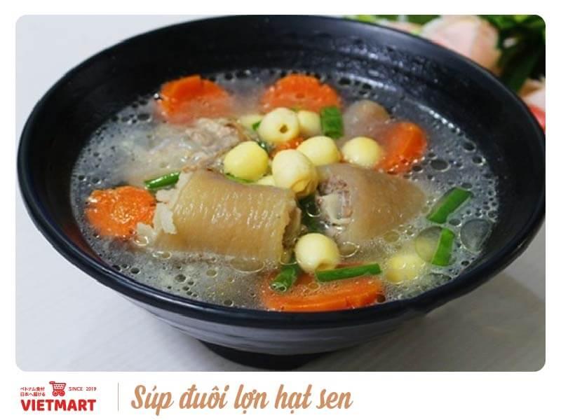 Súp đuôi lợn hạt sen - Vietmart - Chợ Việt Nam tại Nhật Bản