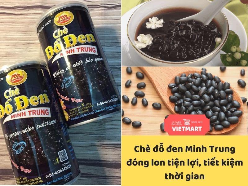 Chè đỗ đen đóng hộp Minh Trung - Vietmart - Chợ Việt Nam tại Nhật Bản