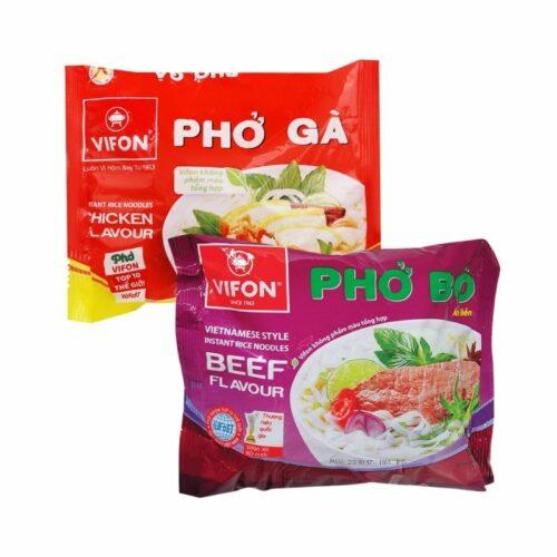 Combo phở bò, gà Vifon tiết kiệm 10%|Thực phẩm Việt tại Nhật