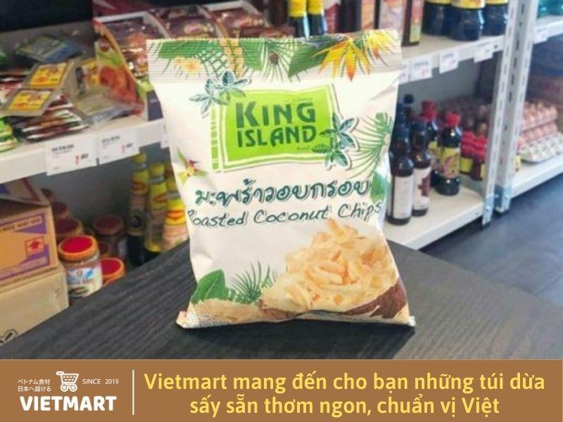 Dừa sấy đóng gói - Vietmart - Chợ Việt Nam tại Nhật Bản