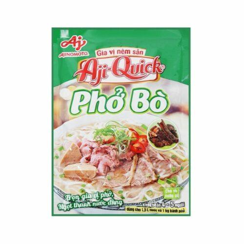 Gia vị nêm sẵn Aji quick Phở Bò|Gia vị Việt ở Nhật|Vietmart