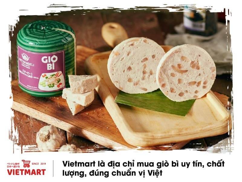 Đặc sản Việt - Giò bì Vietnamdeli - Vietmart - Chợ Việt Nam tại Nhật Bản