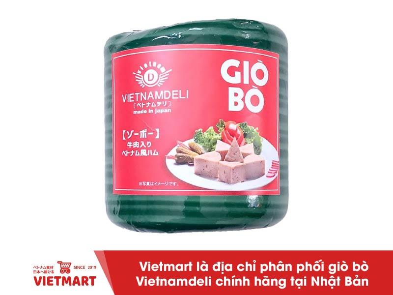 Giò bò Vietnamdeli (450g) - Vietmart - Chợ Việt Nam tại Nhật Bản