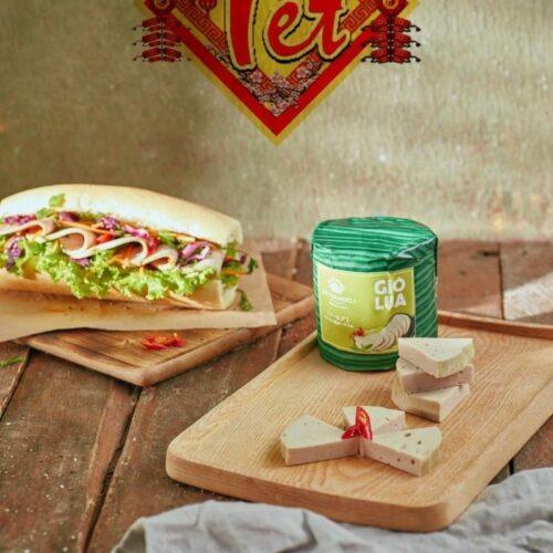 Giò lụa Vietnamdeli thơm ngon, giá tốt tại Vietmart