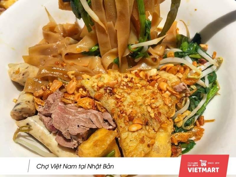 Cách làm món bánh đa trộn thanh mát đổi vị ngày hè từ Bánh đa khô Vifon - Vietmart ẩm thực - chợ Việt tại Nhật
