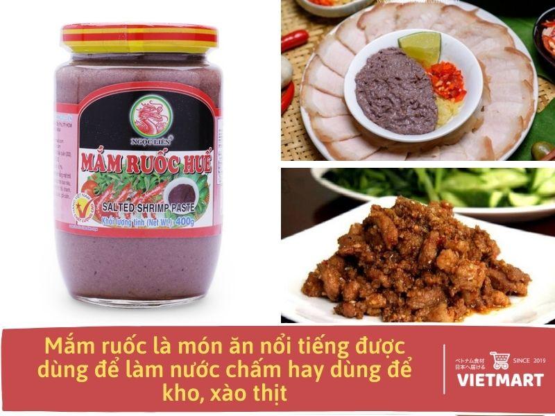 Mắm ruốc Huế - Gia vị Việt được phân phối bởi Vietmartjp.com