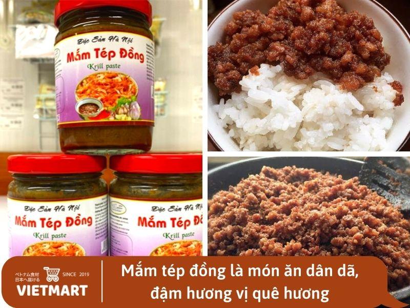 Mắm tép đồng đặc sản Hà Nội - Vietmart - Chợ Việt Nam tại Nhật Bản