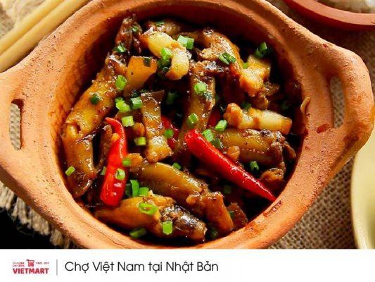 nấu cá kho thịt với sốt cá-thịt kho Barona - Vietmart - Chợ Việt tại Nhật