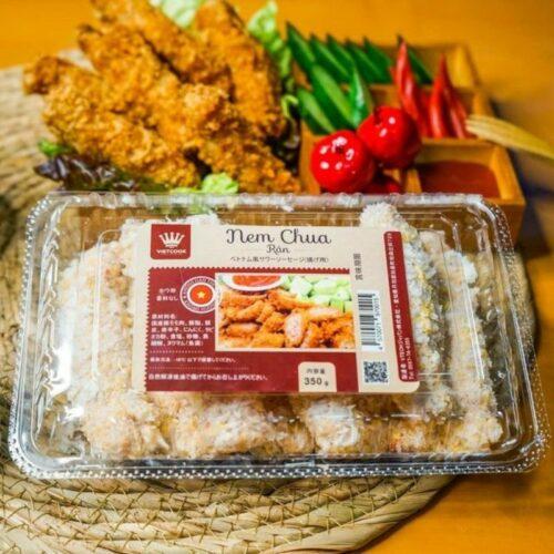 Nem chua rán Vietcook ngon mê li - Đặc sản Việt tại Nhật