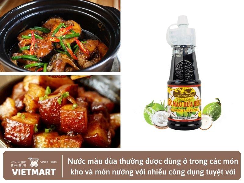 Nước màu dừa - Gia vị Việt Nam tại Nhật Bản - Vietmart