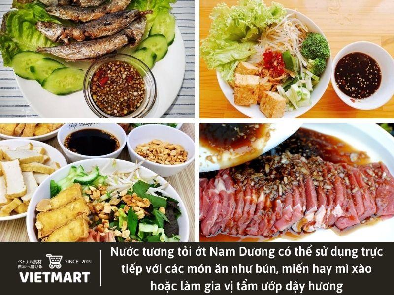 Nước tương tỏi ớt Nam Dương - Vietmart - Thực phẩm và gia vị Việt Nam tại Nhật Bản