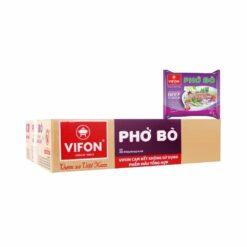 Thùng phở bò Vifon 30 gói giá rẻ tại Nhật|Freeship từ ¥9900