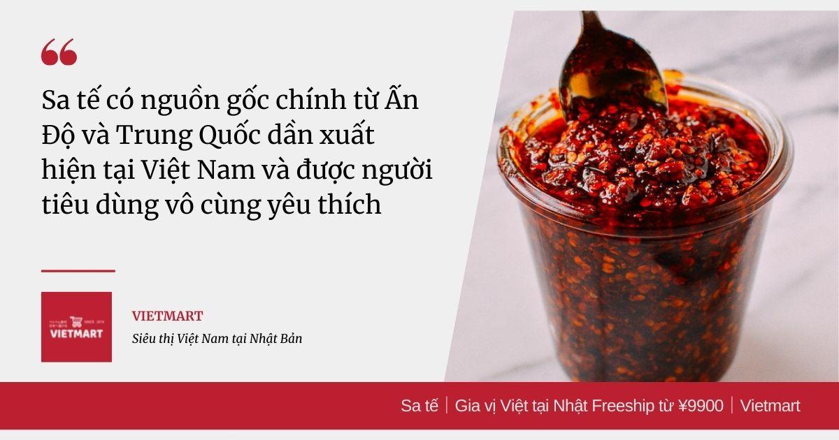 Sa tế|Gia vị Việt tại Nhật Freeship từ ¥9900|Vietmart