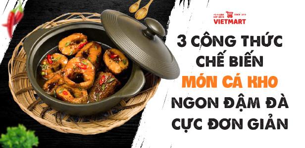 Chế biến cá kho từ Knorr cá kho - Gia vị Việt Nam chất lượng cao - Vietmart - Chợ Việt Nam tại Nhật Bản