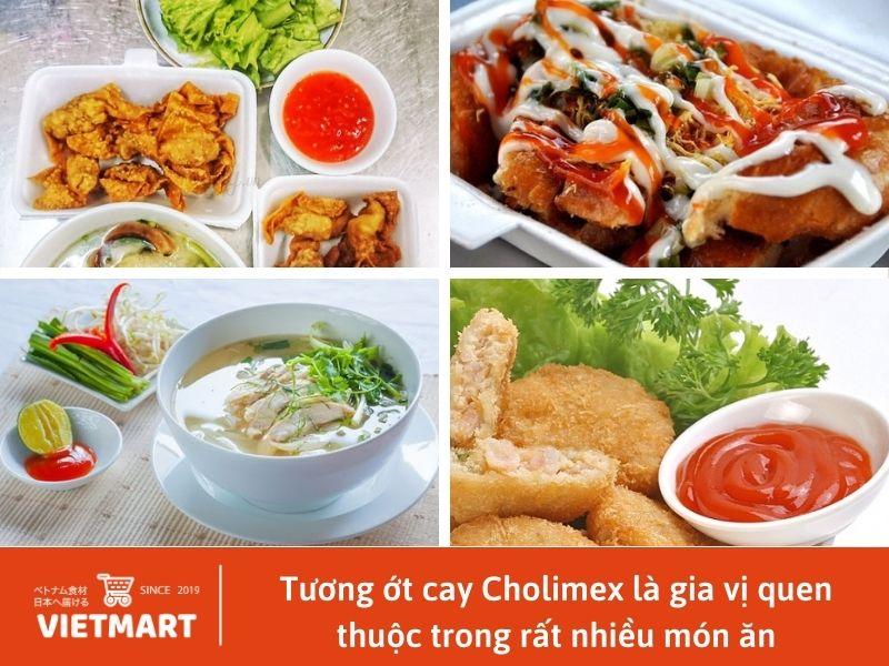 Tương ớt cay Cholimex chai thuỷ tinh (250ml) - Vietmart - chuỗi cửa hàng thực phẩm và gia vị Việt Nam tại Nhật Bản