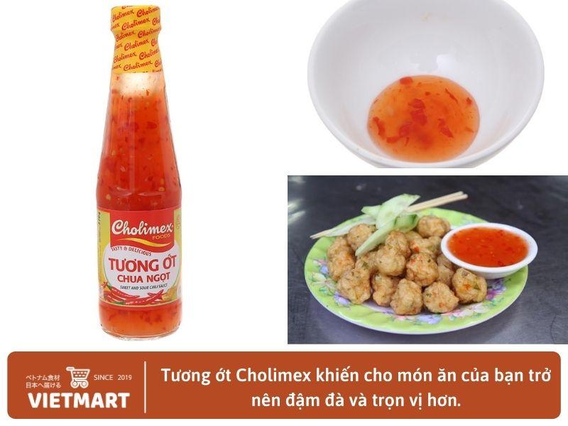 Tương ớt chua ngọt Cholimex (250ml) - Vietmart - Chợ Việt Nam tại Nhật Bản