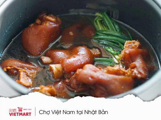 Chân giò lợn cắt có xương - Vietmart - Chợ Việt tại Nhật