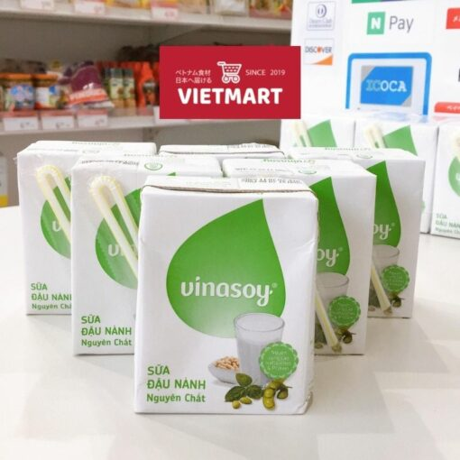 Sữa đậu nành Vinasoy nguyên chất ở Nhật|Vietmart - chợ Việt