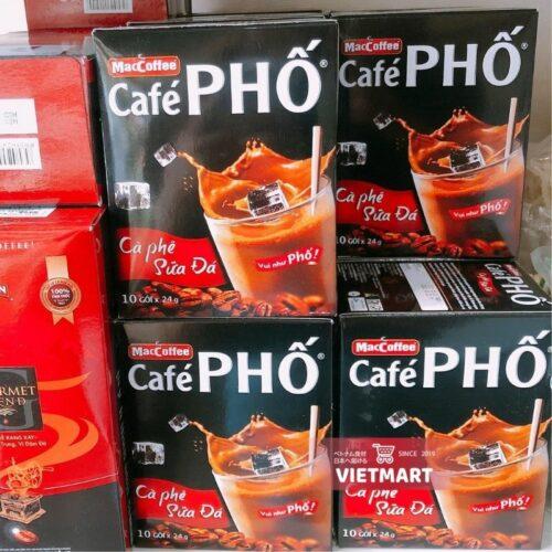 Cà phê Phố cà phê sữa đá MacCoffee 240g tại Nhật|Vietmart