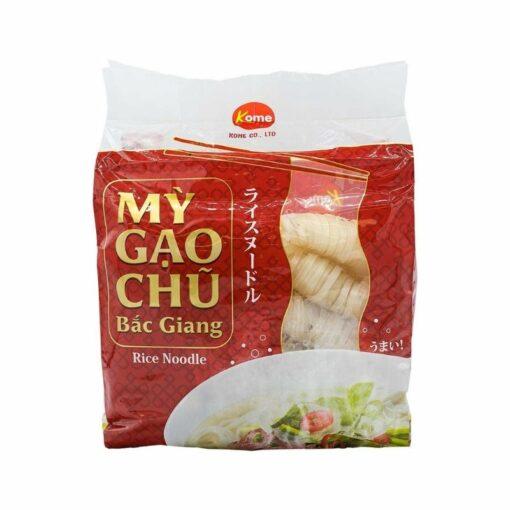 Mỳ gạo chũ Bắc Giang Thực phẩm Việt chính hãng tại Nhật