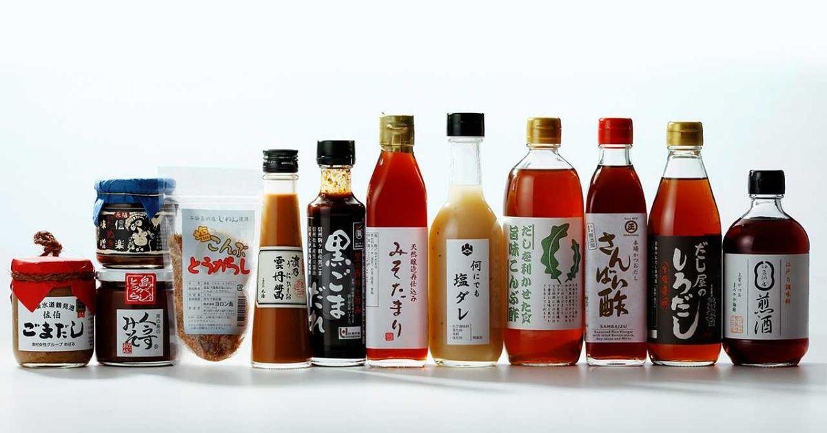Các loại gia vị của Nhật Bản