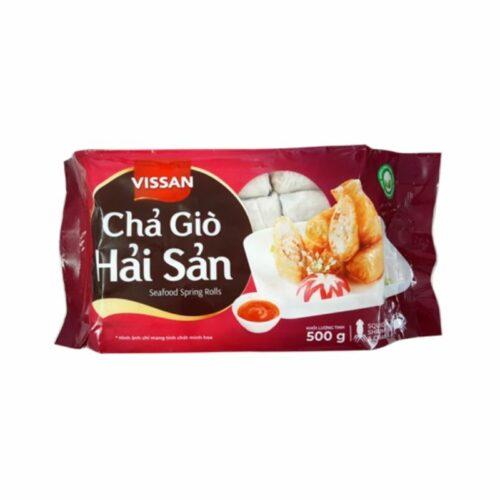 Chả giò hải sản Vissan gói 500g|Đặc sản Việt tại Nhật Bản