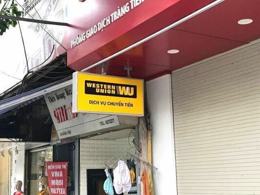 Western Union - Công ty chuyển tiền từ Nhật về Việt Nam