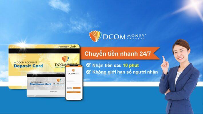 DCOM - Công ty chuyển tiền từ Nhật về Việt Nam