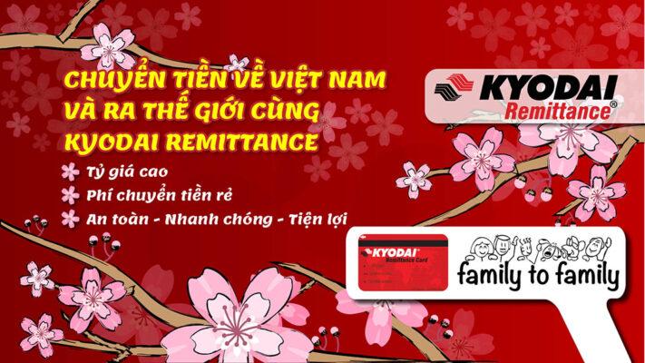 Kyodai - Công ty chuyển tiền từ Nhật về Việt Nam