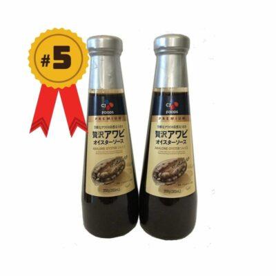10 loại Dầu hào của Nhật Bản bán chạy nhất Vietmartjp
