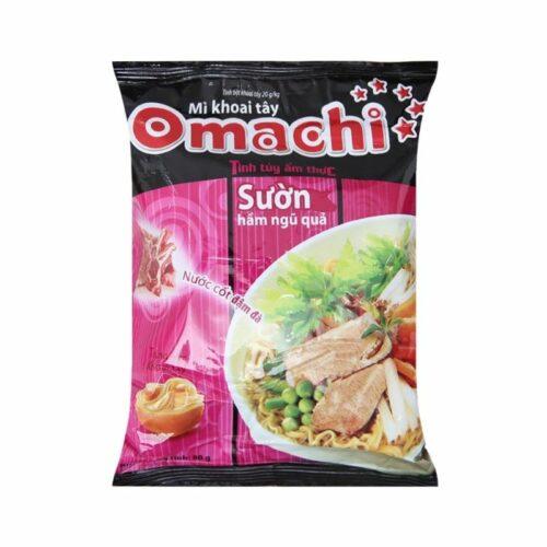 Mì khoai tây Omachi sườn hầm ngũ quả|Siêu thị Việt ở Nhật