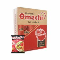 Thùng mì Omachi xốt bò hầm 30 gói chính hãng tại Nhật