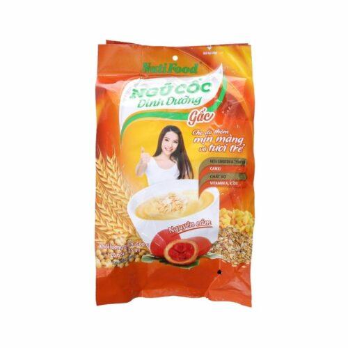 Ngũ cốc dinh dưỡng Nutifood vị gấc túi 500g ở Nhật Vietmart