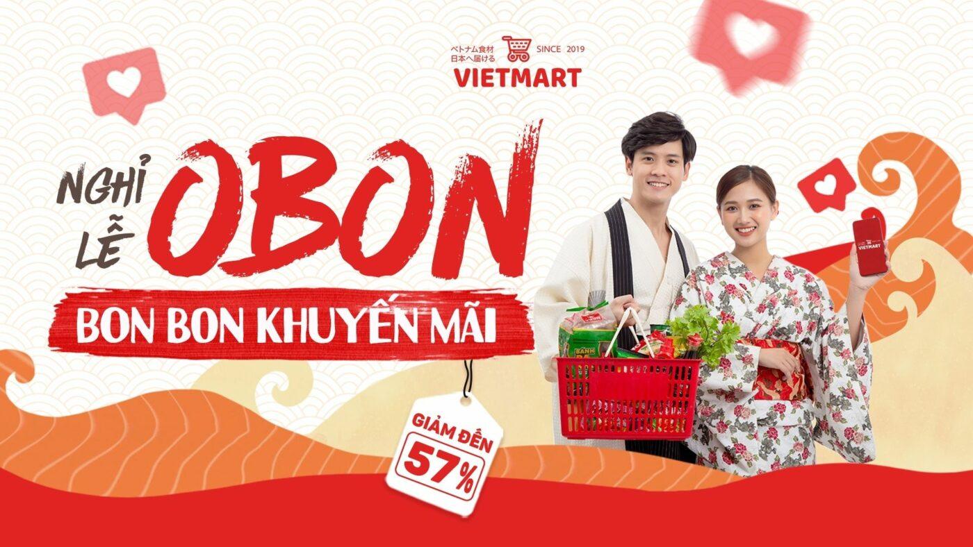 Thực phẩm Việt - Obon giảm giá tới 57%