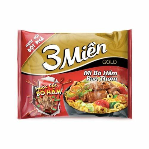 Mì 3 miền mì bò hầm rau thơm giá rẻ tại Nhật Thực phẩm Việt