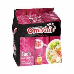 Mì Omachi sườn hầm ngũ quả bịch 5 gói chính hãng tại Nhật