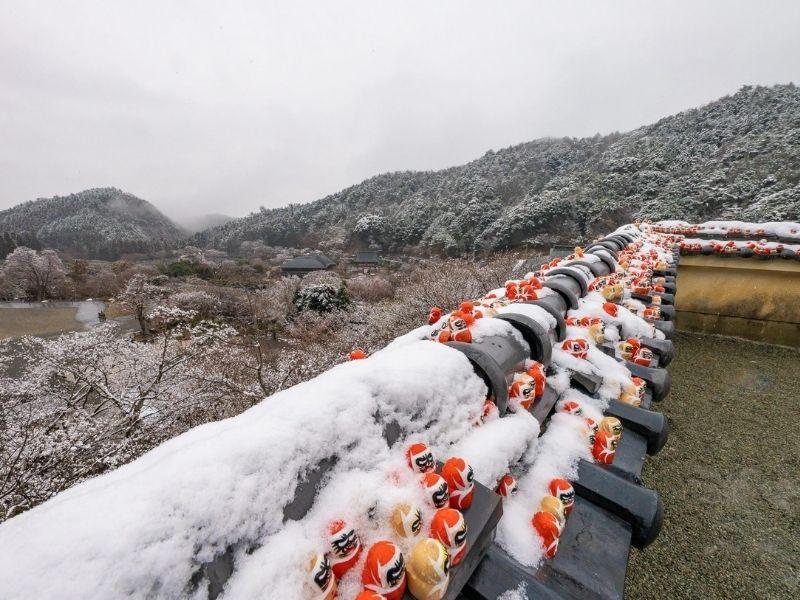 Mùa đông lạnh lẽo ở chùa Katsuoji