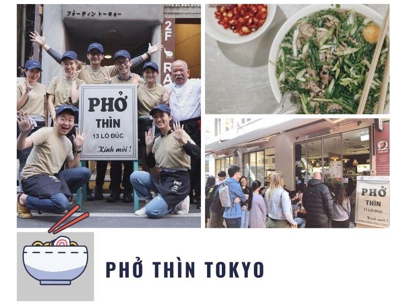 Phở Thìn Tokyo - quán ăn Việt Nam Tokyo