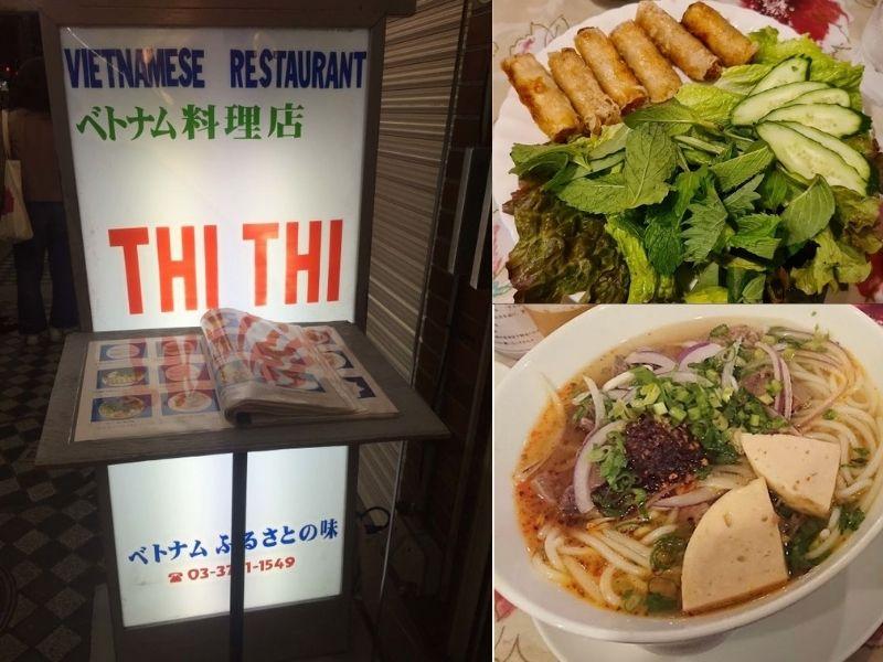 Thi Thi - quán ăn Việt Nam Tokyo