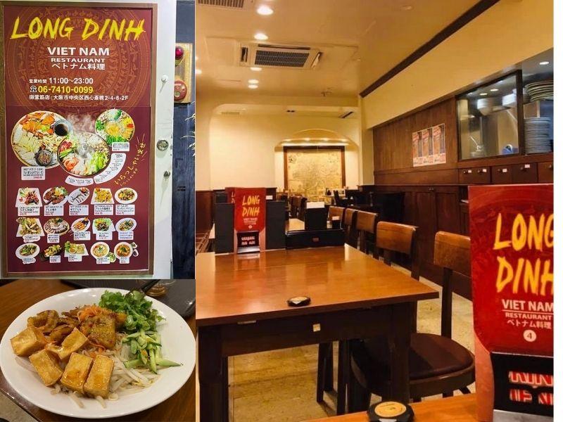 Long Đình - Quán ăn Việt Nam Osaka