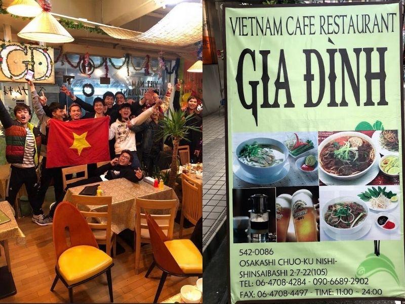 Gia Đình - Quán ăn Việt Nam Osaka